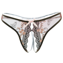 Buy Lovely Doll Women Sexy Transparent Panties Lace Panties Seamless Briefs Comfortable Open Crotch String Sexy Femme Lingerie Thong