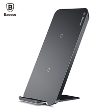 Buy Baseus QI Wireless Charger Pad iPhone X Samsung Note 8 S8 Plus S7 S6 Edge Fast Wireless Charging Dock Station Desktop Stand for $18.99 in AliExpress store