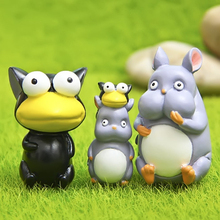 New Arrival Kawaii Miyazaki Hayao Spirited Away Little Mouse & Fly Mini Figures Toy PVC Action Figure Collection Model Kids Toys
