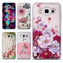 Samsung Galaxy A5 2015 A3 Case 2016 A500F A7 Phone 3D Flower Silicon Back Cover Funda Coque - Shop1038443 Store store