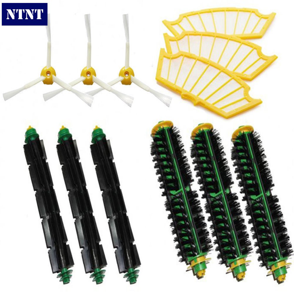 NTNT Free Post New Filters &amp; Brush kit For iRobot Roomba Vacuum 500 Series 510 520 530 540 535 560<br>