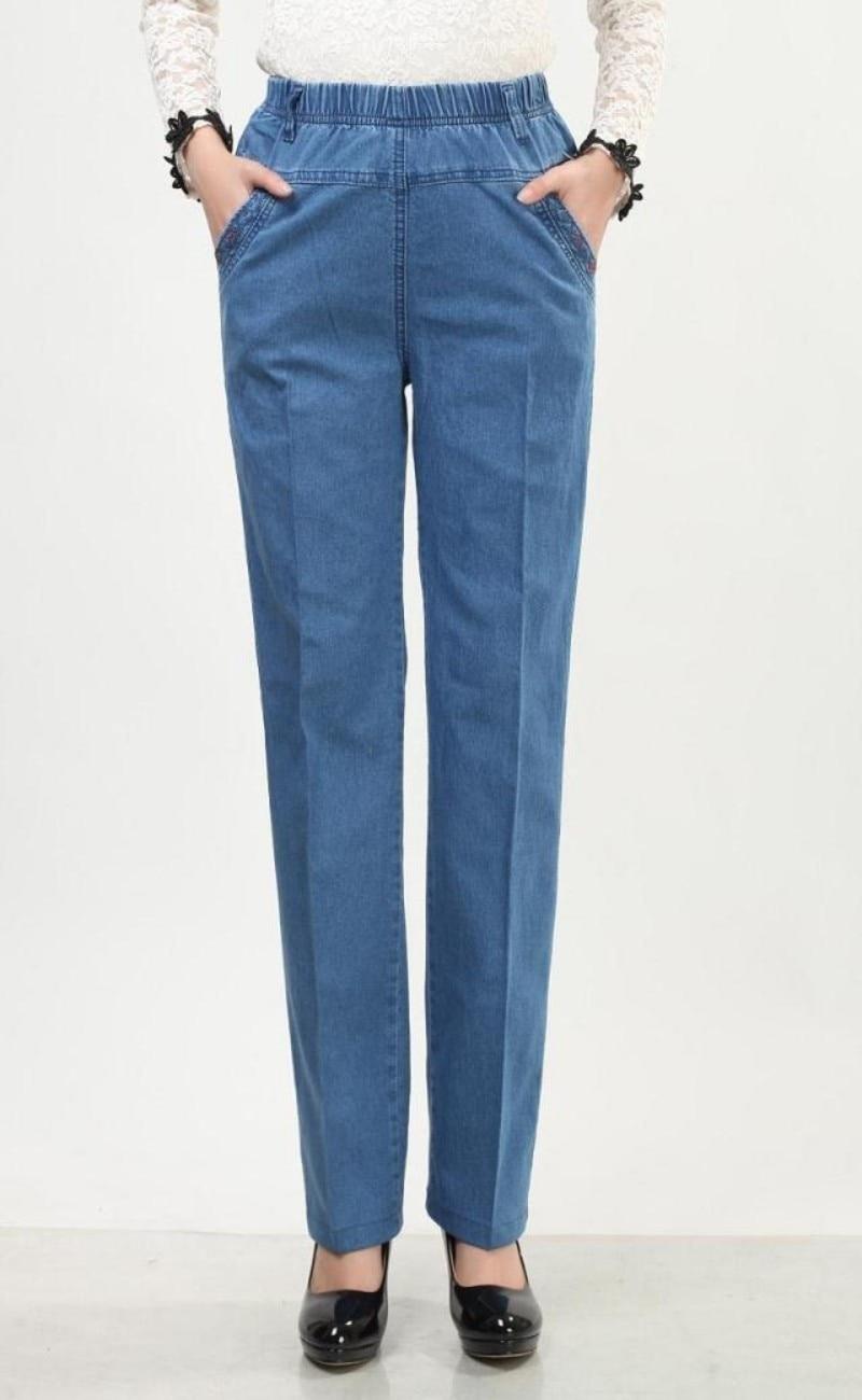 Jeans 2017 New Fashion Jeans Autumn Winter High Waist Ms Plus Size Pants Slim Fashion Long Pencil Pant Skinny Elastic Slim JeansОдежда и ак�е��уары<br><br><br>Aliexpress