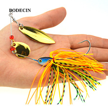 Buy 1PS Fishing Lure Wobblers Lures Wobbler Spinners Spoon Bait Pike Peche Tackle Artificial Baits Metal Sequins Spinnerbait for $1.19 in AliExpress store