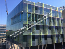 Double Glass Solar Modules Component Photovoltaic Facade Curtain Wall Solar Cell Electric PV Systems(China)