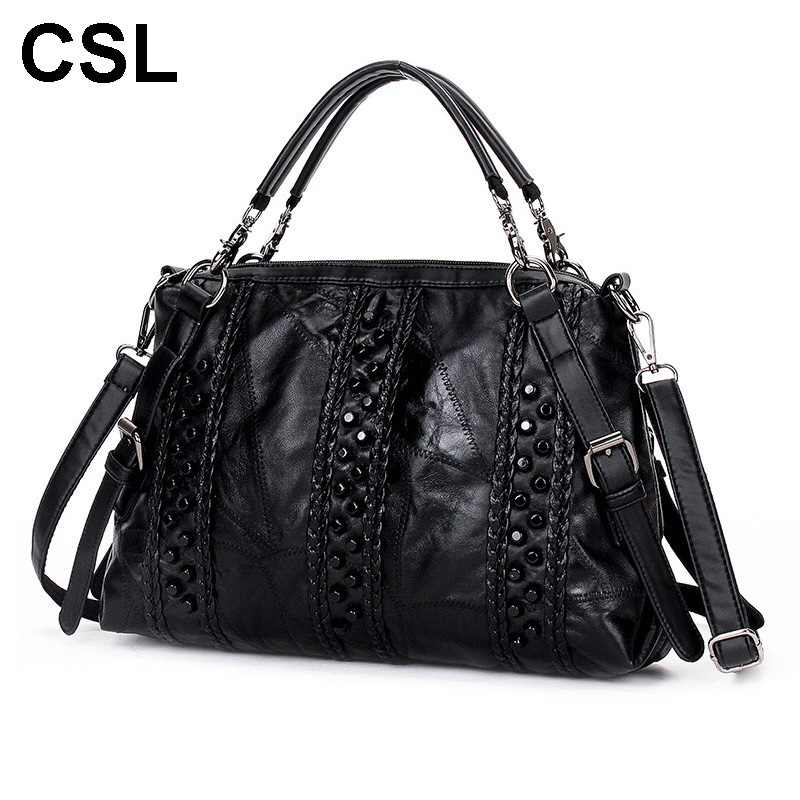 2017 New Women Handbags 100% Genuine Leather Shoulder Bag Casual Cross Body Real Sheepspink woman Messenger Bag Totes handtas<br>