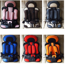 Comfortable  Baby Car Seat Baby Kids Safety Chairs In Car Thickening Cotton Adjustable Children  Infant Cotton Safe Car Seats