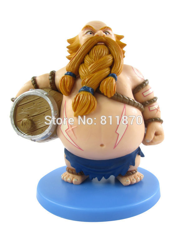 Cosplay LOL The Rabble Rouser Gragas 10cm/3.9 Q Version PVC GK Model Action Figures Toys Garage Kits<br><br>Aliexpress