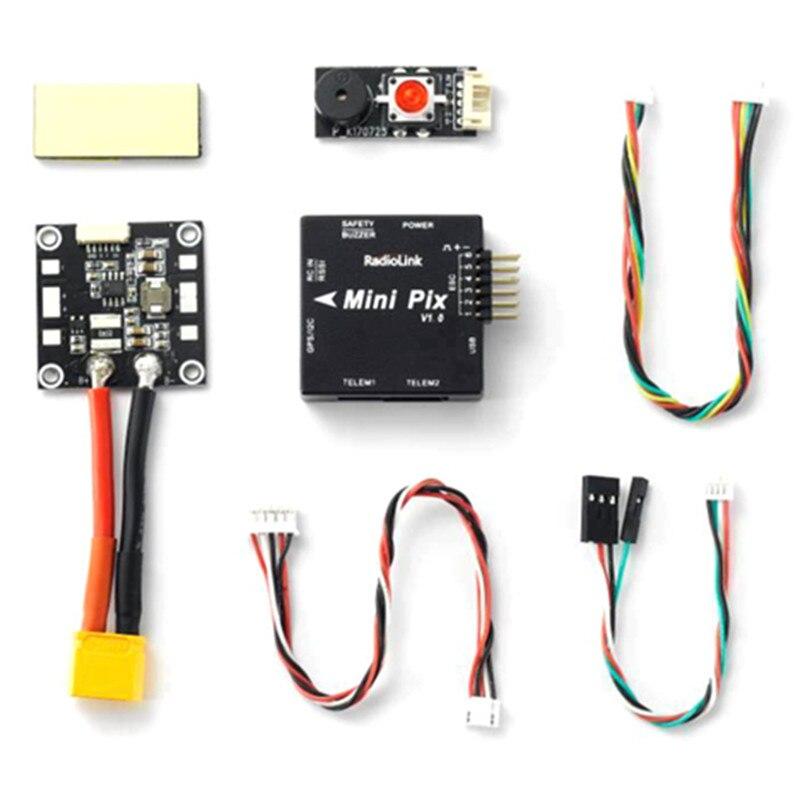 Radiolink Mini PIX V1.0 F4 Flight Controller STM32F405 MPU6500 With Barometer JST GH Connector For Multirotor Spare Parts<br>
