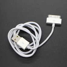 1M 3ft High quality 30 pin USB Charger Sync Data Cable for iPad2 3 for iPhone 4 4S 3G for iPod for Nano for Touch