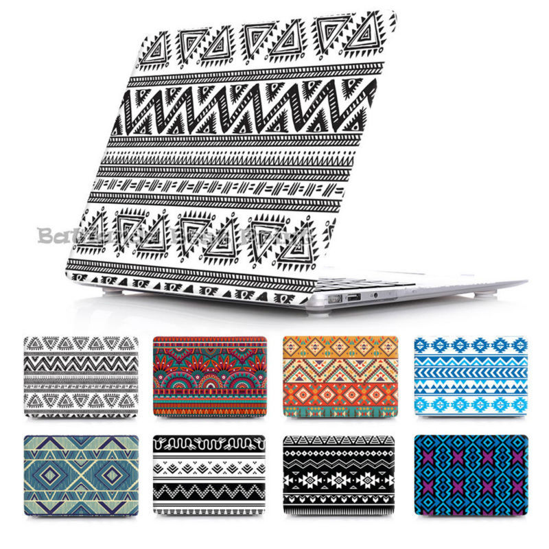 New Fashion Tribal ethinc Pattern Russia Retina Air 11 12 13 Pro 13 15 for Apple Macbook Hard Print Crystal Cover Case Sleeve<br><br>Aliexpress