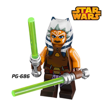Building Block Ahsoka Tano Anakin Rebel Combat Frigate Star Wars diy figures Avengers Superheroes Bricks Kids DIY Toys Hobbies