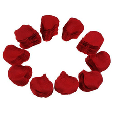 1000 Pcs Heart Shaped Red Rose Petals,Wine red