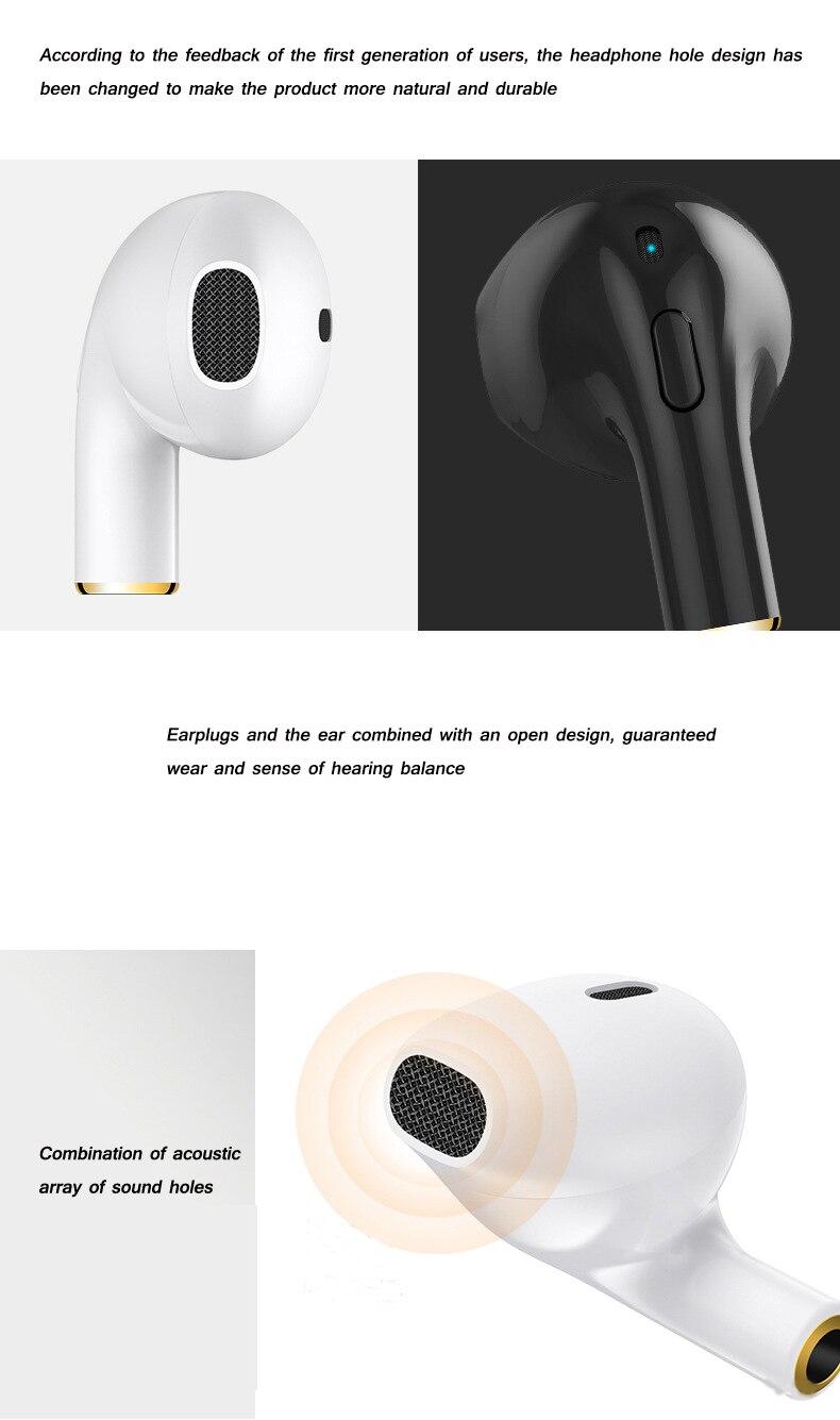 OTHA mini i8x sport earphones Mini Twins Wireless Earbuds Stereo Bluetooth 4.2 Headset in Ear Waterproof/Sweat-proof Earpiece