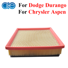 Car Parts Engine Air Filter For Chrysler Aspen / Dodge Durango 2004 2005 2006 2007 2008 2009 Accessories 53032527AB