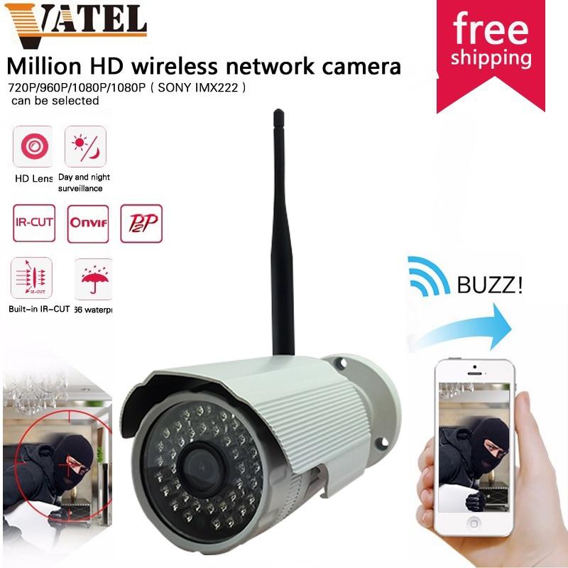 720p/960p/1080P bullet HD Wifi IP Camera Outdoor Waterproof Night home security camera system SONY 222 Surveillance CCTV Camera<br><br>Aliexpress