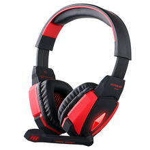 Kotion EACH G4000 USB Stereo Gaming Headphone Headset Headband with Microphone Volume Control LED Light for PS3 PC Game