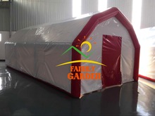 Durable PVC Outdoor Event Advertising Airtight Inflatable Medical Tent For Promotion Commercial Use