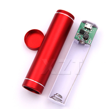 High Quality 1pcs External Battery Storage Case USB 5V 1A Power Bank Suit 18650 Batteries DIY Case Box Store for Cell Phones(China)