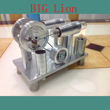 Cool !Miniature Stirling engine ' BIG Lion ' Stirling engine engine generator model hobby Educational Toy Kits