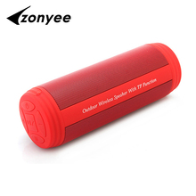 Zonyee T3 Bluetooth Speakers 10W Portable Wireless Speaker Outdoor Mini Column Box Loudspeaker Speaker for iPhone Samsung Phone(China)