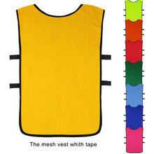 Scrimmage Practice Jerseys Team Pinnies Sports Vest for Children Pinnies Jerseys top quality team uniform new soccer breathable(China)