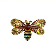 The bee man animal insect brooch Valentine vintage men brooch jewellry clothing accessories costume jewelry brooches