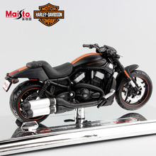 1:18 Scale miniature child Harley 2012 VRSCDX Night Rod Special Diecast model car motorcycle moto race gift toys for kids boys