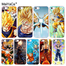 Buy MaiYaCa Dragon Ball DragonBall z goku Coque Shell Phone Case Apple iPhone 8 7 6 6S Plus X 5 5S SE 4S Cover for $1.07 in AliExpress store