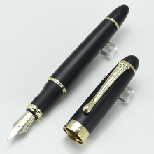 JINHAO X450 Executive Black frosted Broad Bib Fountain Pen Without Pencil Box luxury writing gift pens