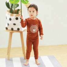 Baby Boys Girls Home Clothes Suit Coat+Pants Cartoon Cotton Soft And Comfortable The Children's Favorite Gifts For Children