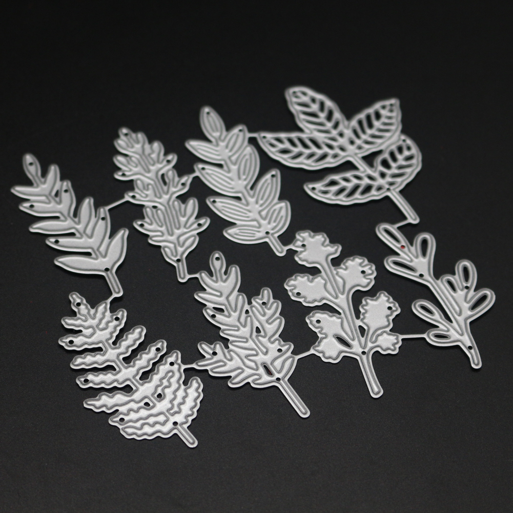 Leaves Metal Cutting Dies Stencils for Scrapbooking Card Decor Diy Craft New 2018 stansen en cutting dies stanzschablonen