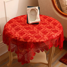 #76 The New Wedding Decoration Table Cloth European Style Tablecloth Square Embroidered Table Cloth Lace Table Cloth Wedding
