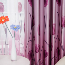 modern garden curtains  for Living Dining Room Bedroom 1pc curtain + 1pc Tulle custom windows products