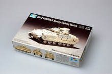 TRUMPETER  07297  1/72 M2A2 ODS/ODS-E Bradley Fighting Vehicle  Assembly Model kits scale model  3D puzzle vehicle model
