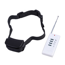 Hight Quality Remote Control Small Dog Pet No Anti Bark Vibration Training Shock Collar  BS