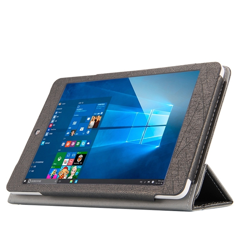 Teclast X89 Kindow Dual OS Tablet Steel Wire Texture Horizontal Flip Leather Case with Three-folding Holder<br><br>Aliexpress