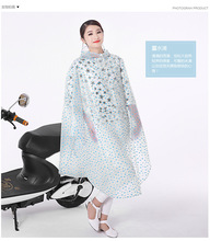 Polka Dot Transparent PVC Raincoat Women Long Poncho Waterproof Motorcycle Unisex Raincoat Plus Size Regenponcho Fahrrad(China)