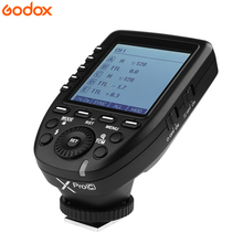 Godox Xpro-C Transmitter Supply E-TTL II 2.4G Wireless X system High-speed flash Big LCD Screen Canon - Camera Master store