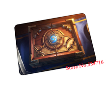 hearthstone mousepad logo gaming mouse pad Natural rubber gamer mouse mat pad game computer desk padmouse keyboard play mats