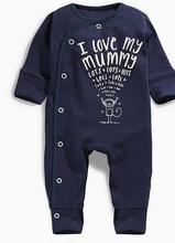 Mrs win brand  Boys Girl Spring Autumn Clothes Wear Baby Clothes Pajamas Newborn Baby Rompers Infant cotton Long Sleeve Jumpsuit