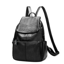 Designer Women's Backpacks Genuine Leather Female Backpack Women School Bag For Girls Large Capacity Shoulder Travel Mochila