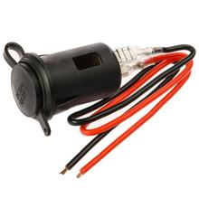 12V / 24V Car Plug Socket Cigarette Lighter Socket Power Supply Adapter For Smart Phone Charger