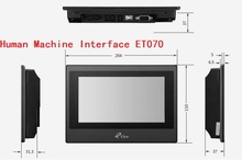 ET070 Kinco Eview 7inch color HMI touch screen(China)