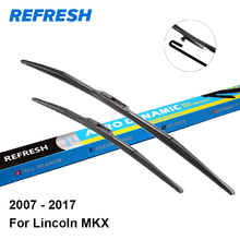 "REFRESH Wiper Blades for Lincoln MKX 26""&20"" Fit Pinch Tab / Hook Arms 2007 2008 2009 2010 2011 2012 2013 2014 2015 2016 2017"