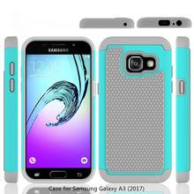 A3 2017 Armor Phone Case Soft Rubber Full Back Dual Cover Drop Shock Protection Hard Samsung Galaxy A320F - Big Prospect Store store