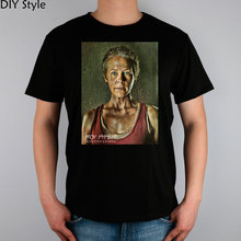 Carol Peletier The Walking Dead T-shirt Top Lycra Cotton Men T shirt New Design High Quality