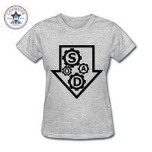 2017 Natural Cotton SOAD Gears System Of A Down Alternative Music Funny T Shirt for women