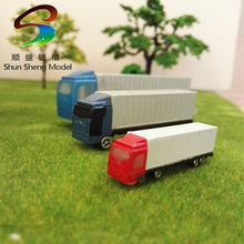 1:200 truck abs plastic scale model truck