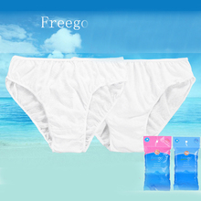 New Unisex Disposable Panties Pregnant Women Soft Underwear White Panties Paper Cotton Underwear Hot Travel Vacation Essentials(China)