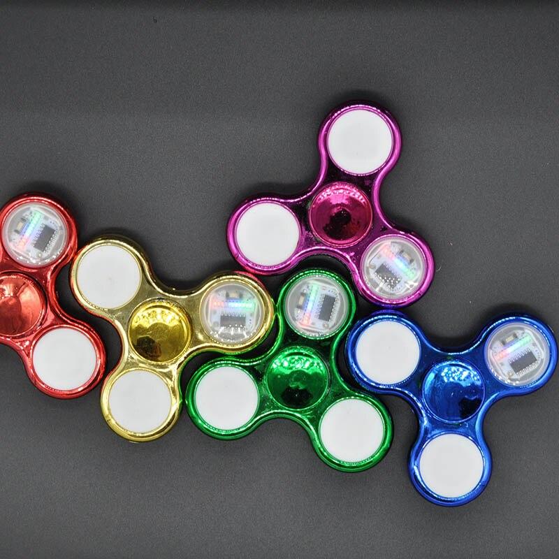 Light Fidget Spinner Led Stress Hand Spinners3